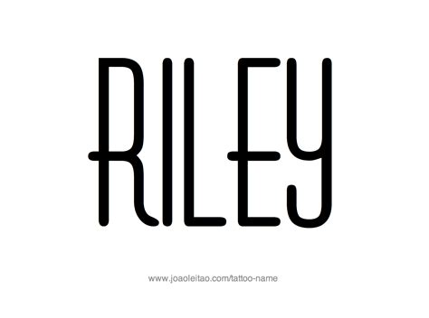 riley name tattoo design design name 20 2 png