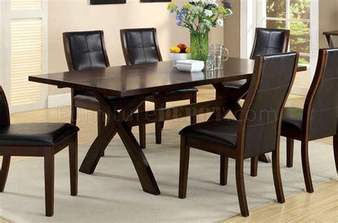 toronto dining table cm3339t toronto dining table in oak w optional items
