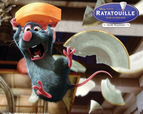 Who Is Your Favorite Chef Of 2007 by Ratatouille Broken Plate Ratatouille Wallpaper 2791532