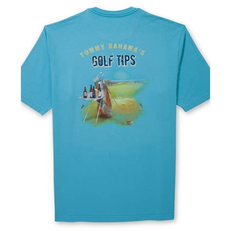 bahama shirts bahama golf tips tshirt in blue for mar lyst