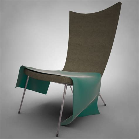 modern reading chair 3d modern lounge reading chair
