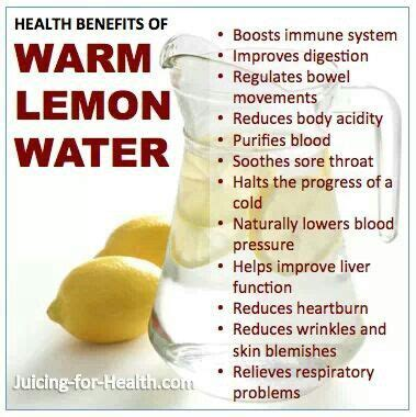 Benefits Of Morning Detox Water by Recipe Warm Lemon Water And Health Benefits Lemon