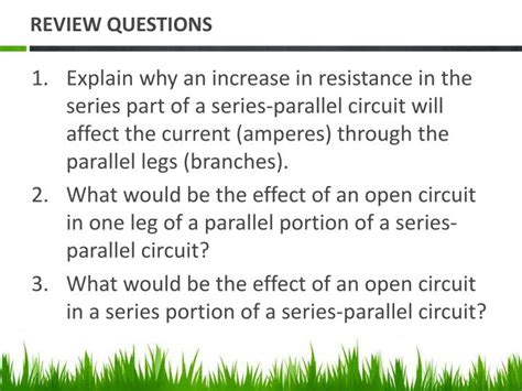 resistance in parallel circuit questions ppt chapter 7 series parallel circuits powerpoint presentation id 5446388