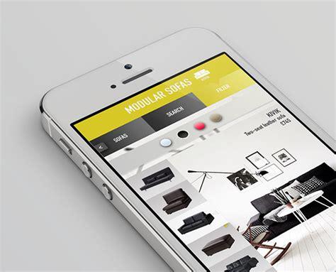 ikea app redesign concept on behance ikea app redesign on pantone canvas gallery