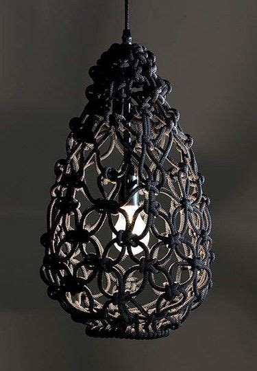 Macrame Craft Ideas - macrame craft ideas lighting pendants chandeliers