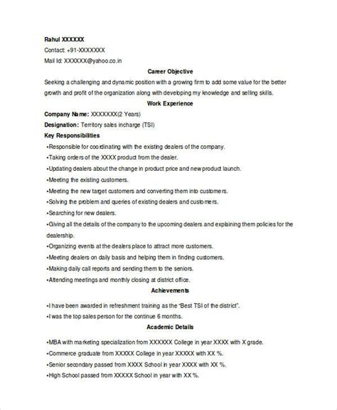 market research sle resume marketing resume sles for successful hunters