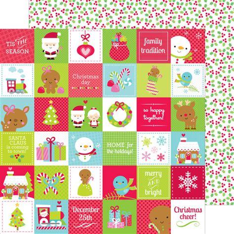doodle bug design doodlebug design santa express merry paper