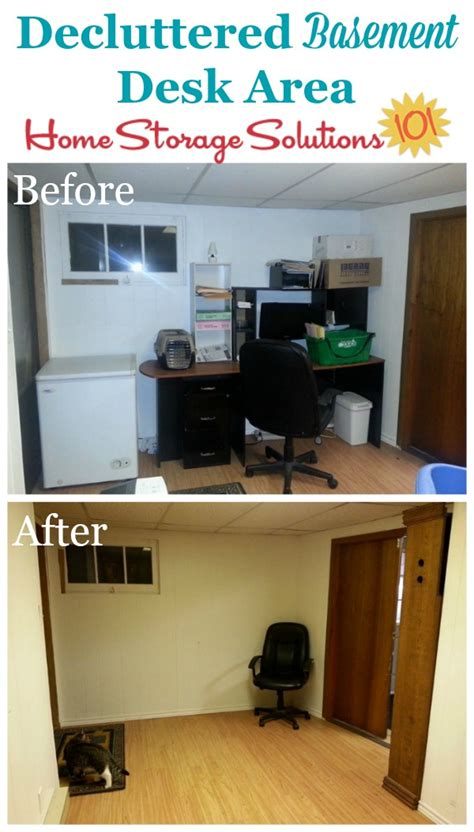 home storage solutions 101 how to declutter your basement without a mess