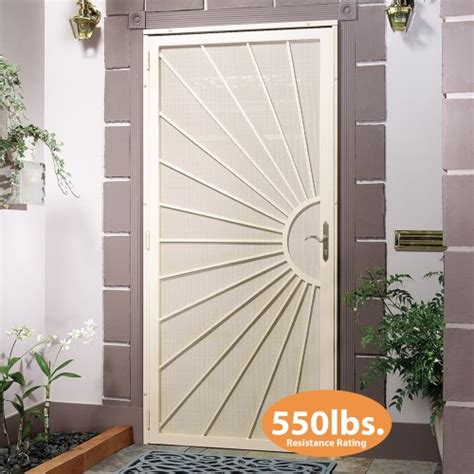 security doors at home mobile screening