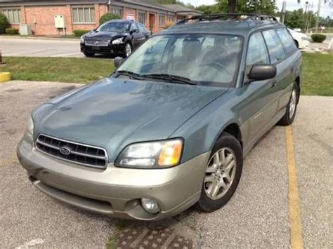 tan subaru outback sell used 2002 subaru legacy outback wagon 4 door 2 5l in