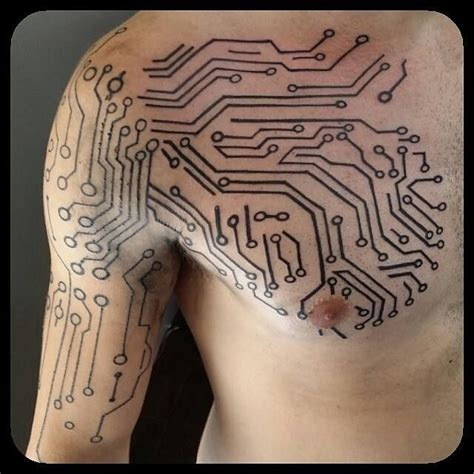 circuitry tattoo 1000 ideas about electronic on high