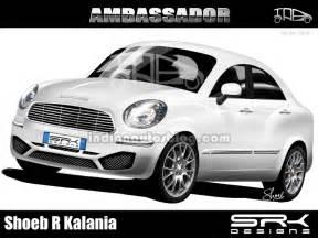 hindustan motors new ambassador car 2014 hindustan motors ambassador render gets bs4 certified