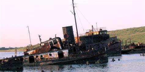 marine salvage yards new jersey staten island ship graveyard becomes sight seeing