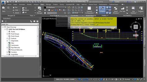 Tutorial Autocad Civil 3d 2015 | autocad civil 3d 2015 tutorial the civil 3d ribbon youtube