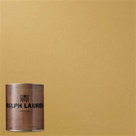 ralph 1 qt topez suede specialty finish interior paint su135 04 the home depot