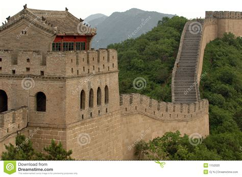 The China the great wall of china stock photo image 1152020