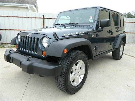 2008 Jeep Wrangler Motor by 2008 Jeep Wrangler Unlimited Rubicon 4x4 Suv In Houston Tx