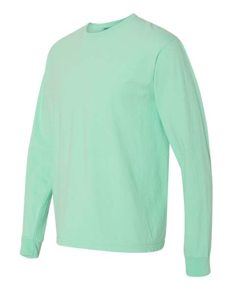 comfort colors long sleeve t shirts comfort colors 6014 garment dyed heavyweight ringspun