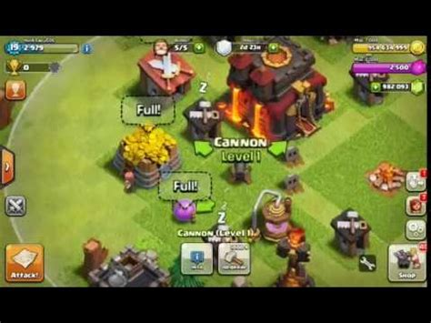 cara mod game coc offline cara hack coc 100 work youtube