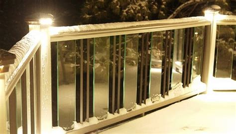 glass   baluster railing deck railing mountain