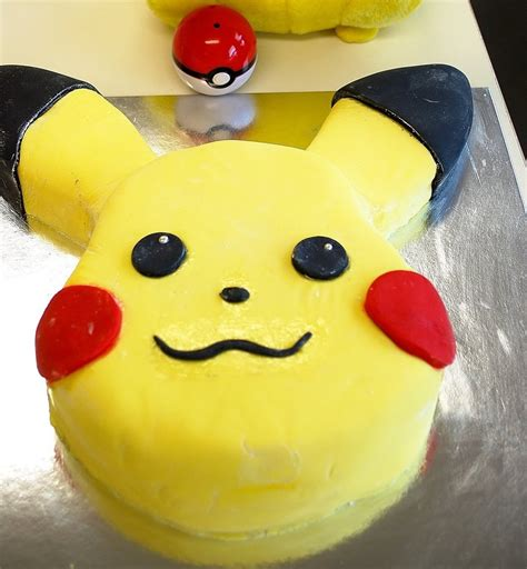 Pikachu Cake Template by Trek Birthday Cake Ideas And Designs