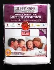 sleep safe mattress protector sleep safe premium anti bed bug mattress