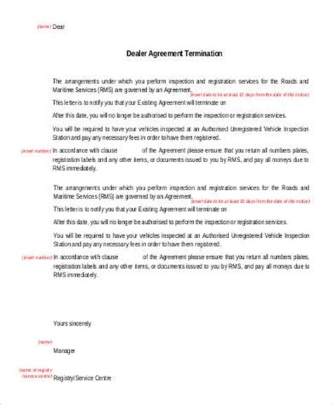 Agreement Expiration Letter Basic Agreements 70 Free Documents In Pdf Word