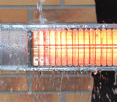 solaira aura mw1500w outdoor electric heater and remote