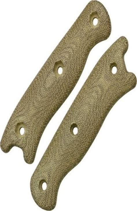 becker micarta scales becker handle scales green bkr16hndl these durable