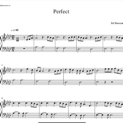 ed sheeran perfect tempo ed sheeran perfect partitura piano gratis m 250 sicas