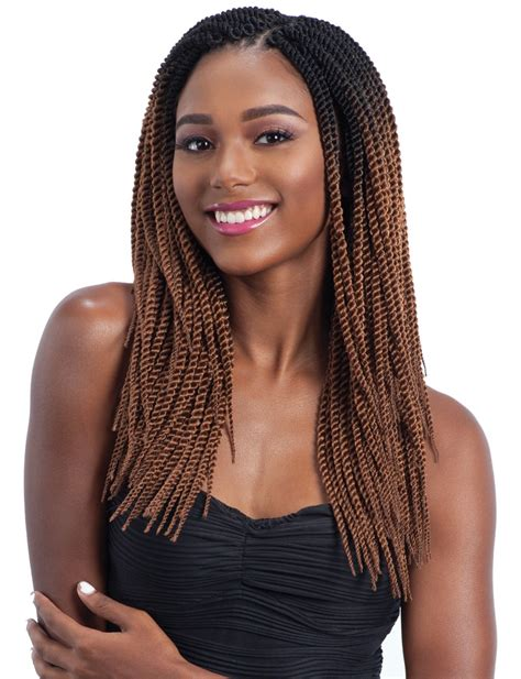 large miccrow braids freetress crochet braid large senegalese twist 14 inch