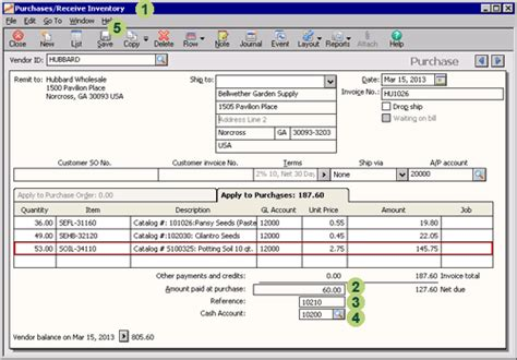 sle invoice partial payment sage 50 learning purchase transactions