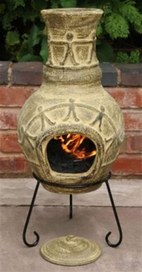 Small Patio Chiminea Amigos Clay Chiminea Enliven Your Patio With This Small