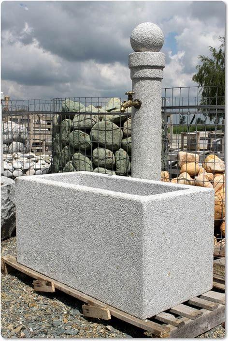 granit garten steinbrunnen mit kugel steinbrunnen mit kugel