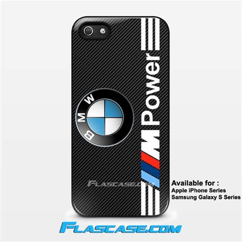 Iphone Iphone 5s Bmw Logo Cover bmw m power logo carbon iphone galaxy phone