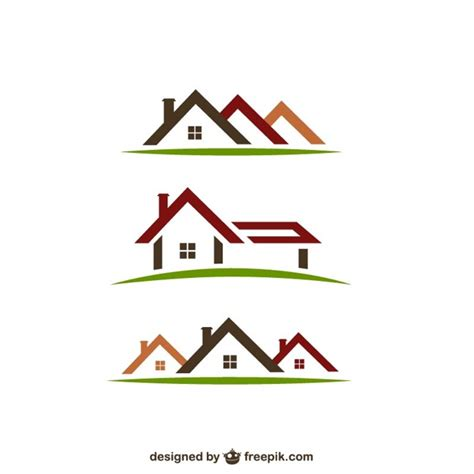 free logo design real estate real estate logos vector free download