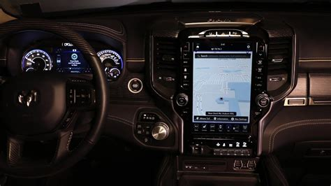 2019 dodge touch screen 2019 ram 1500 uconnect review