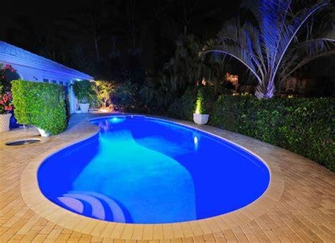landscape lighting fiber optic pool lights design installation nj add on features burton s pools