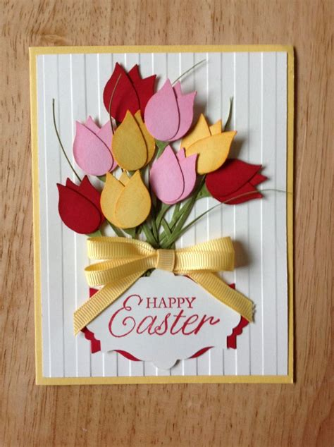 Easter Handmade Cards - 25 best ideas about happy easter cards on