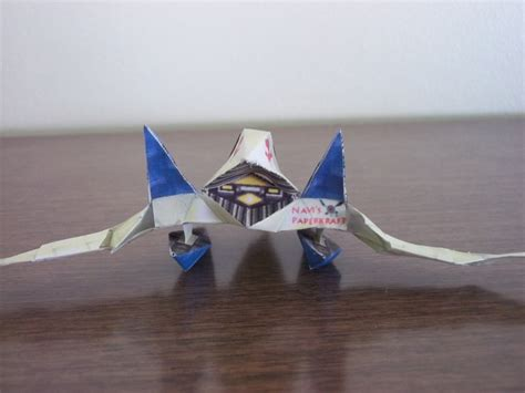Arwing Papercraft - arwing papercraft 28 images origami arwing 2 by omjeee