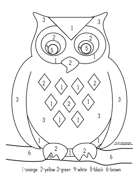 free printable owl worksheets free coloring pages of owl math