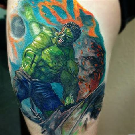 incredible hulk tattoo designs the map evil tattoos page 8