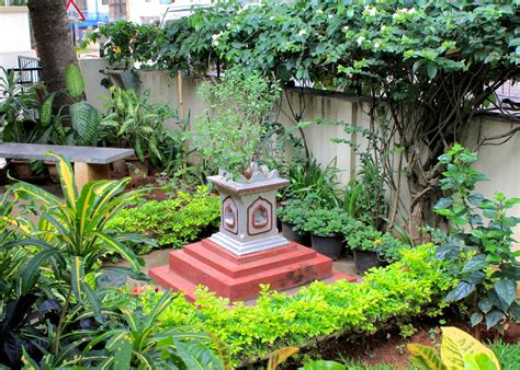 red house garden  indian garden