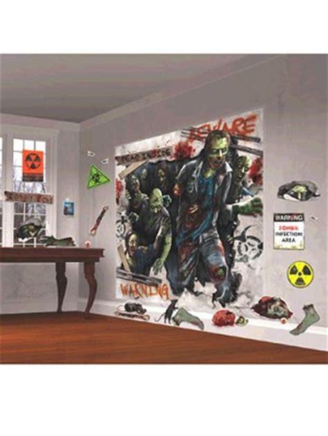 zombie wall decor scene setters zombie wall decor mega kit