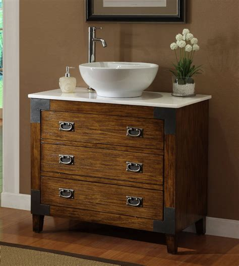 Sink Bowl On Top Of Vanity 36 Quot Diana Da 748 Bathroom Vanity Bathroom Vanities Bath Kitchen And Beyond
