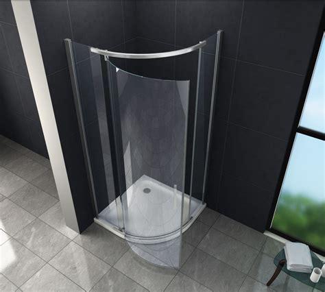 Duschabtrennung Für Badewanne Glas by Duschkabine Pilo 90 X 90 X 200 Cm Viertelkreis Inkl