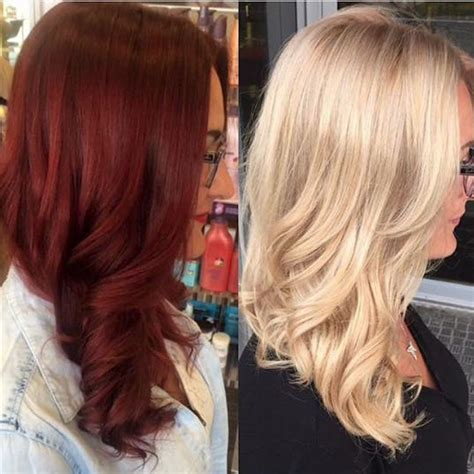 olaplex remove black red to blonde with olaplex by xcentrichair color your