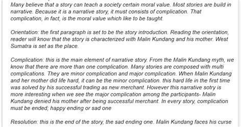 membuat narrative text beserta artinya contoh narrative text contoh narrative text legend