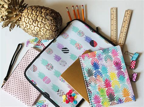 cute themes for school pineapple school supplies oh my b lovely events