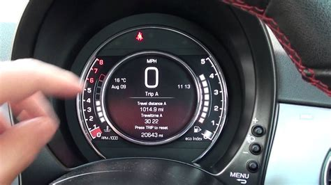 fiat 500 warning lights fiat 500 dashboard warning lights engine start youtube